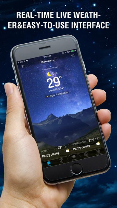 アンバー ウェザー-ライブ天気予報のおすすめ画像1