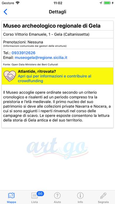 Screenshot of Art and Go4