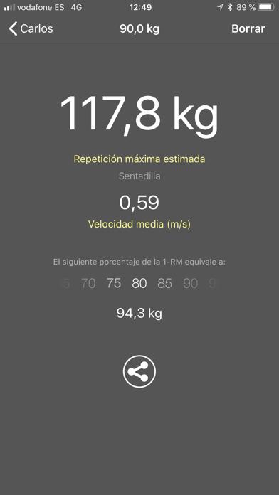 Screenshot for My Lift: Mide tu fuerza in Ecuador App Store