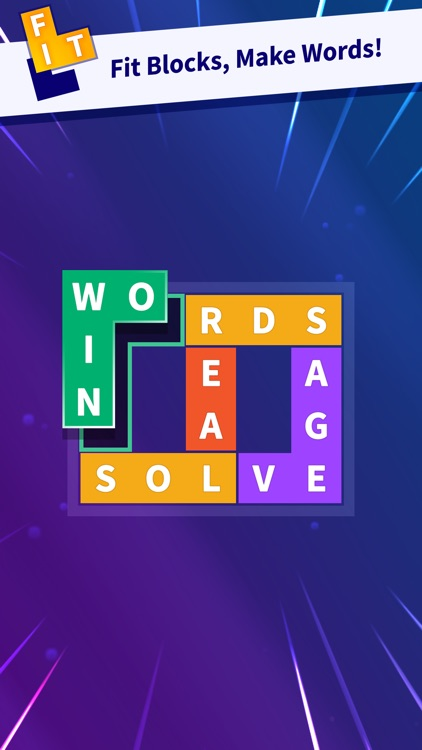 Flow Fit - Word Puzzle screenshot-0