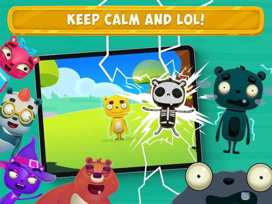LOL Bears ™ Prank Picnic Game screenshot 12