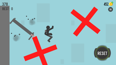 Ragdoll Physics : falling game