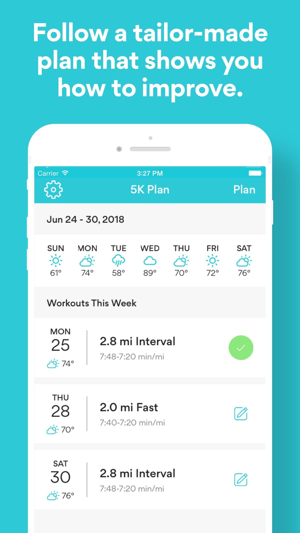 Runkeeper—GPS Running Tracker Screenshot