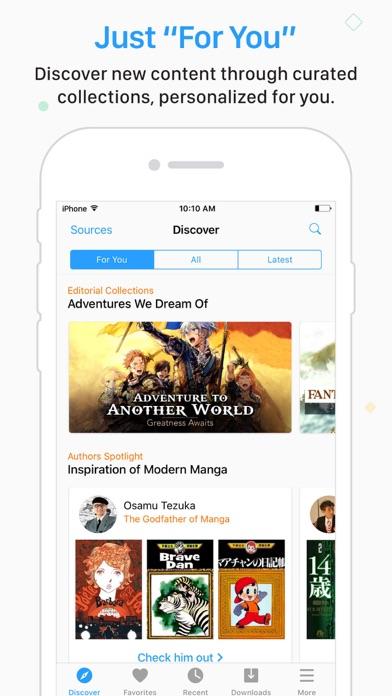 Screenshot for Manga Rock in United States App Store