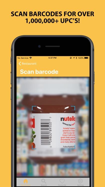 NutriSmart - Fast Food Tracker screenshot-3