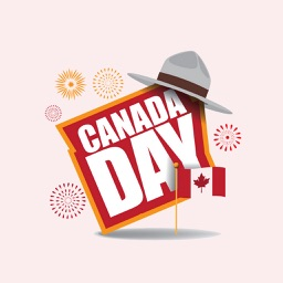 Canada Day Stickers