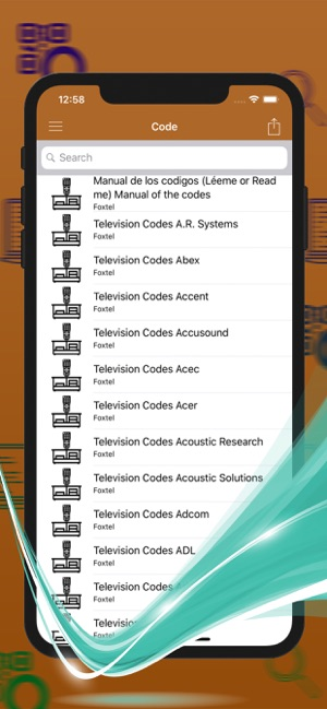 Codes remote For Foxtel on the App Store