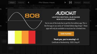 Bass 808 Synth + AUv3 Platinumのおすすめ画像1