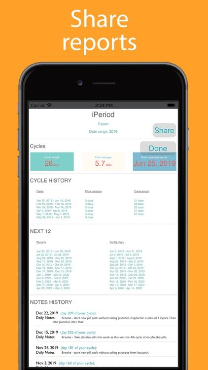 iPeriod Period Tracker + screenshot-9