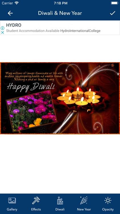 Diwali & New Year Pip Frames screenshot-3