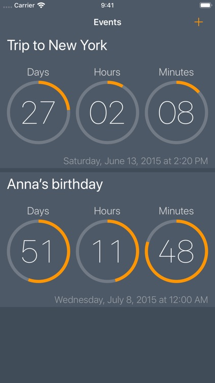 Await - Event Countdown