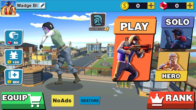 City Survival Battle screenshot-5