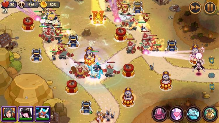 Realm Defense: Hero Legends TD screenshot-7