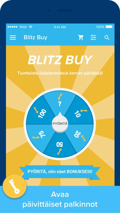 Screenshot for Wish - Shopping Made Fun in Finland App Store