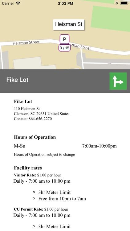 Parker - Find open parking screenshot-4