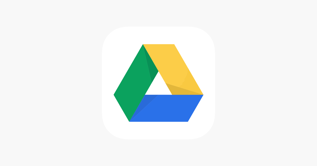 Google Drive – online backup on the App Store