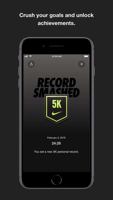 Nike+ Running screenshot