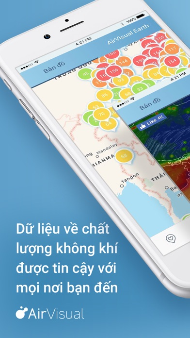 Screenshot for AirVisual Air Quality Forecast in Viet Nam App Store