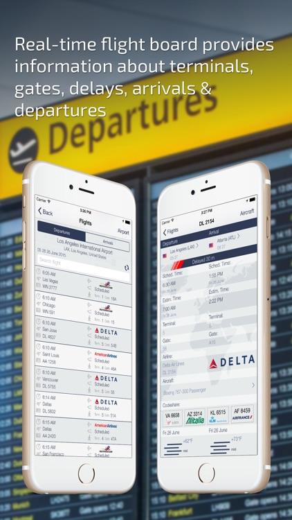 Flight Board & Status Track
