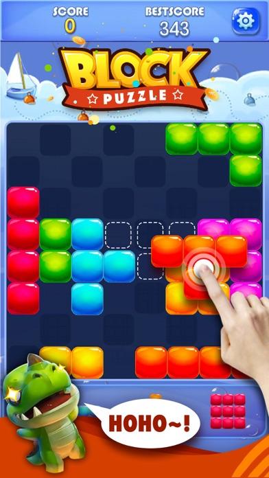 Screenshot of Candy Block Puzzle Blitz4