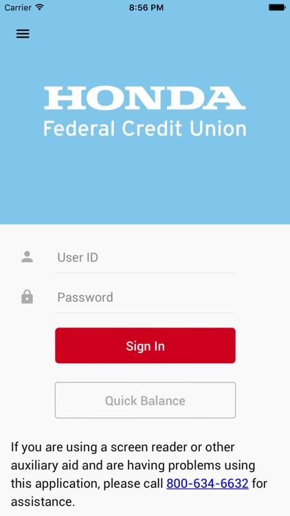 Honda FCU Mobile Banking