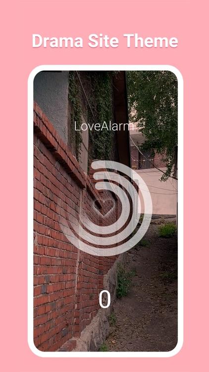 LoveAlarm - 좋아하면 울리는 공식앱 screenshot-3