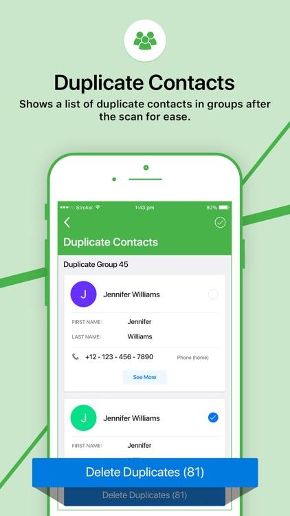 Duplicate Contacts Fixer screenshot-3
