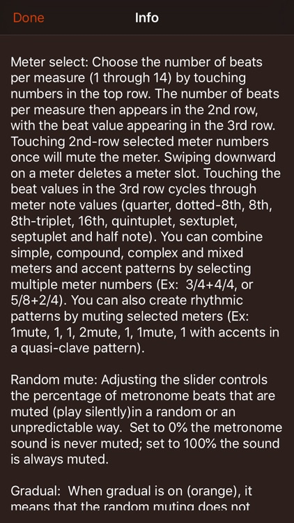 Time Guru Metronome screenshot-5