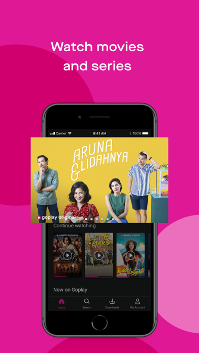 Unduh GoPlay: Watch movies & series pada Pc