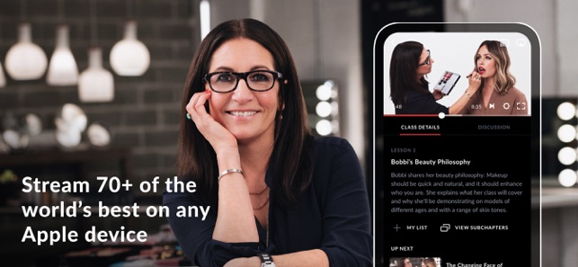 Masterclass Learn New Skills On The App Store