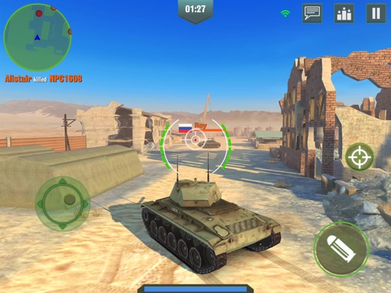 戦争兵器 - 3D戦車ゲーム (War Machines)のおすすめ画像5