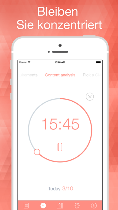 Herunterladen Be Focused - Focus Timer für Pc