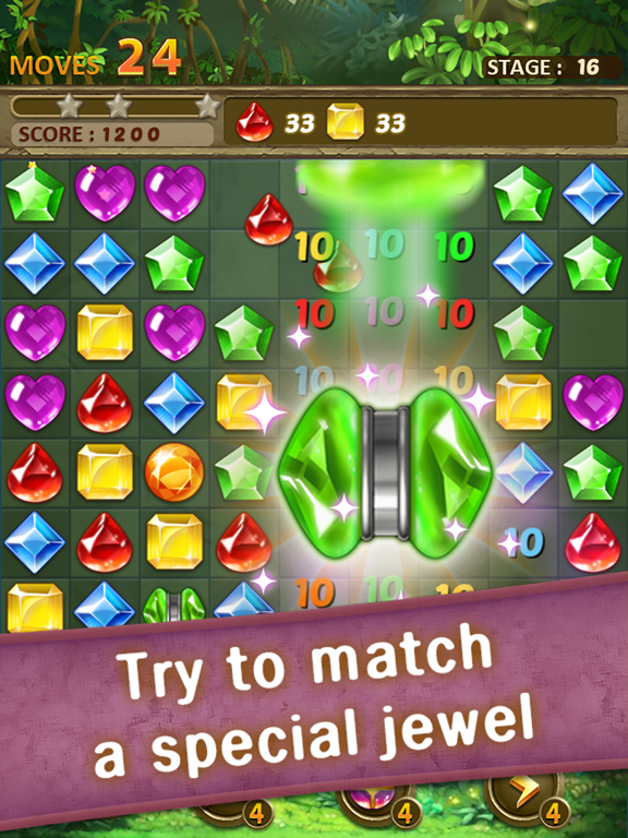 Jewels Jungle : Match 3 Puzzle screenshot 12