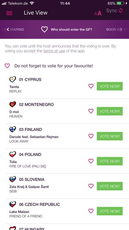 Eurovision Song Contest screenshot-4