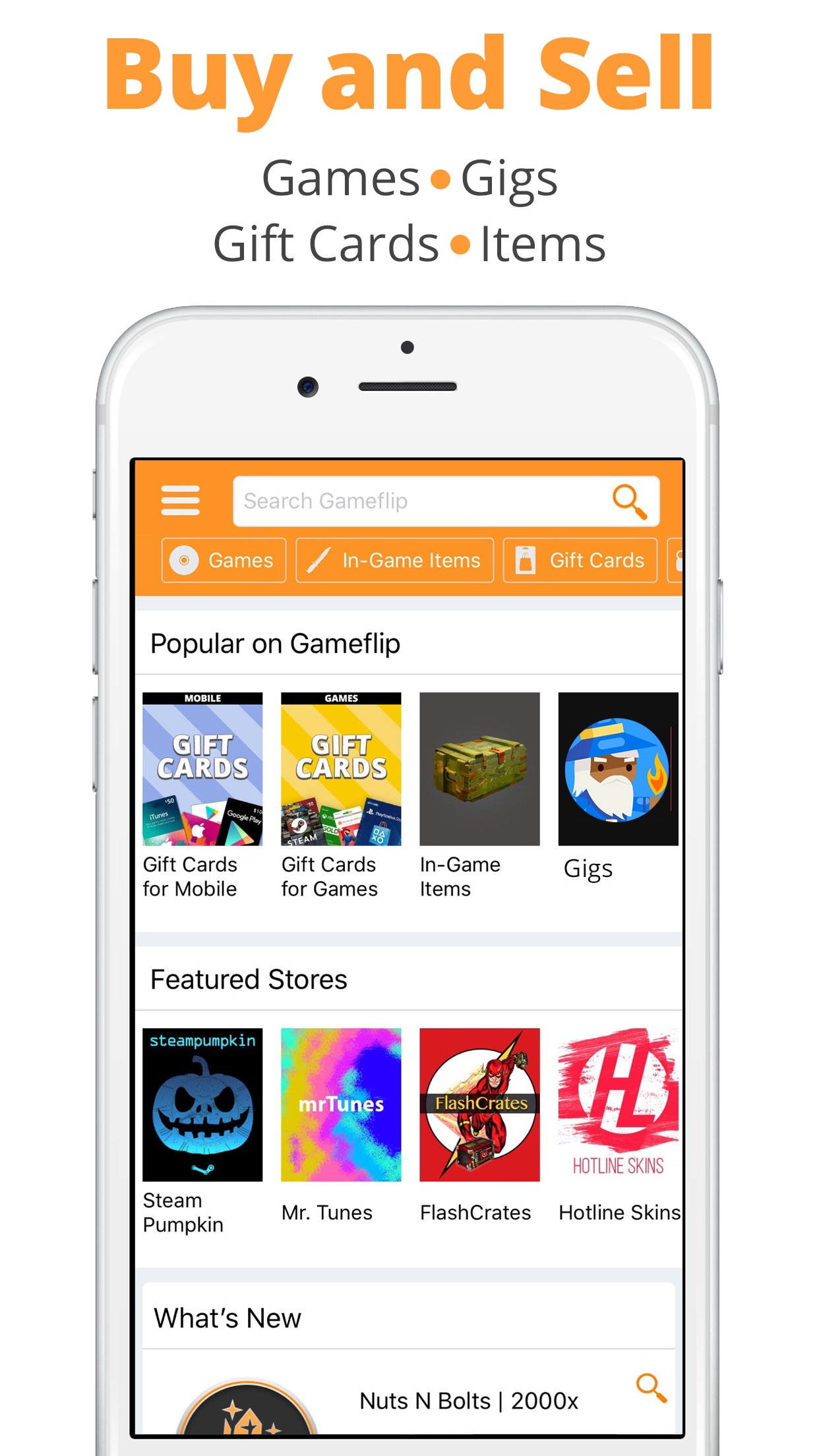 Gameflip - Buy & Sell Screenshot
