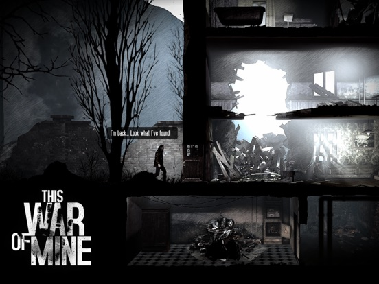 Ipad Screen Shot This War of Mine 0