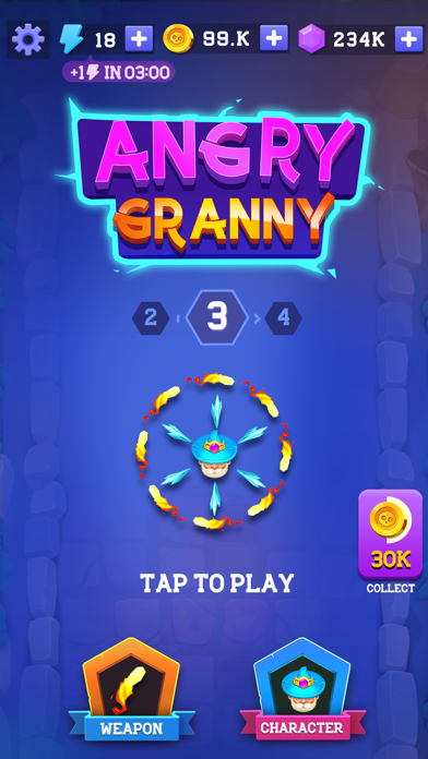 Granny Legend screenshot 1