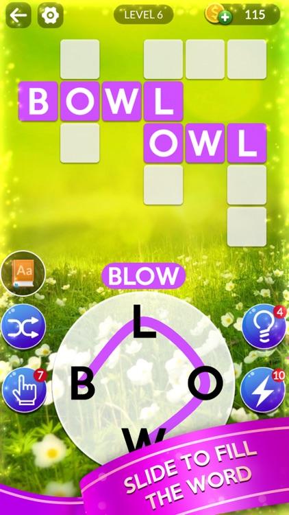 Word Slide - Crossword Puzzles