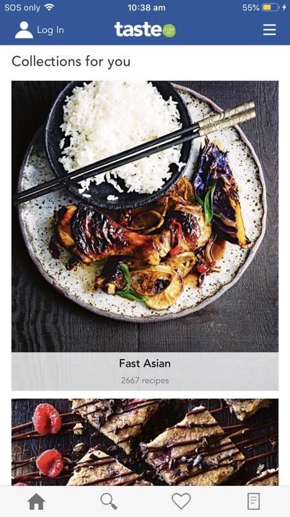 taste.com.au recipes