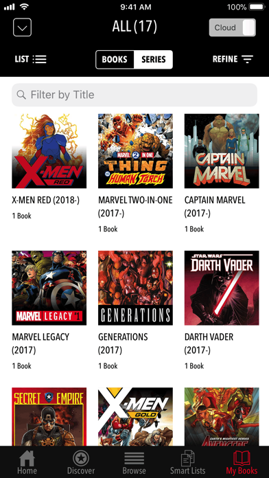 Marvel Comics Screenshot