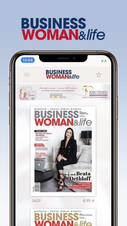 Businesswoman & life magazine