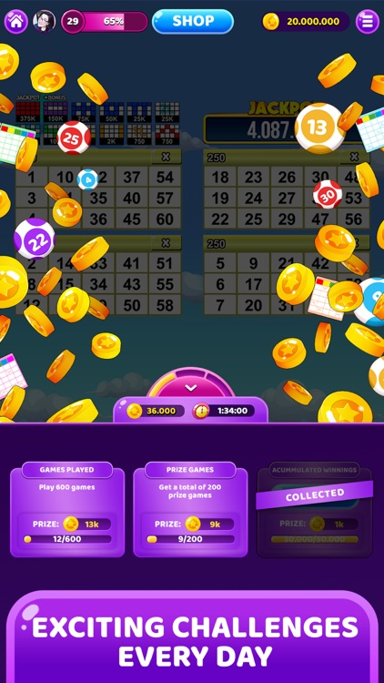 My Bingo! BINGO games online screenshot-8
