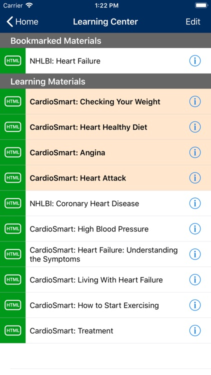 Heart Failure Manager screenshot-3