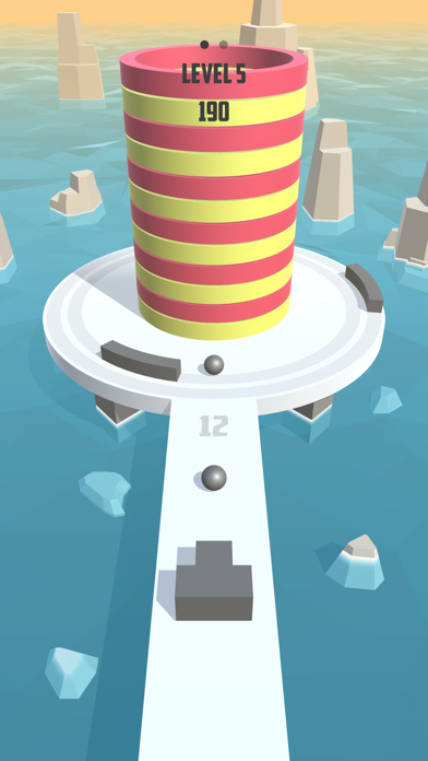 Screenshot for Fire Balls 3D in Spain App Store