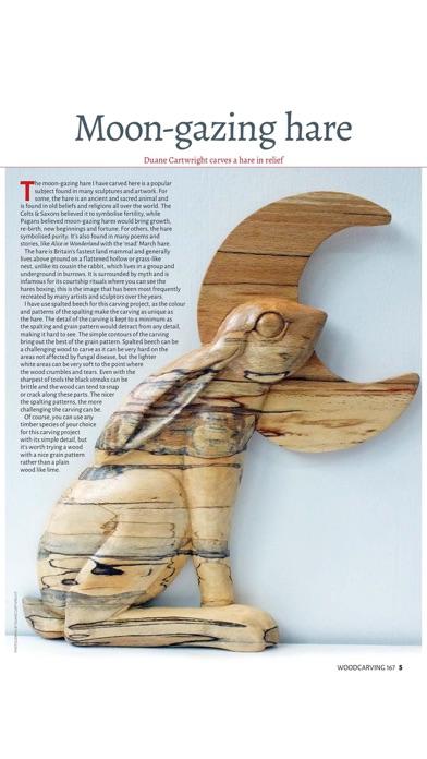 Woodcarving Magazine screenshot1