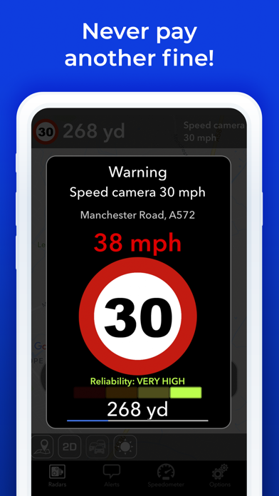 Radarbot: Speedcam Detector by Iteration Mobile S L (iOS, United