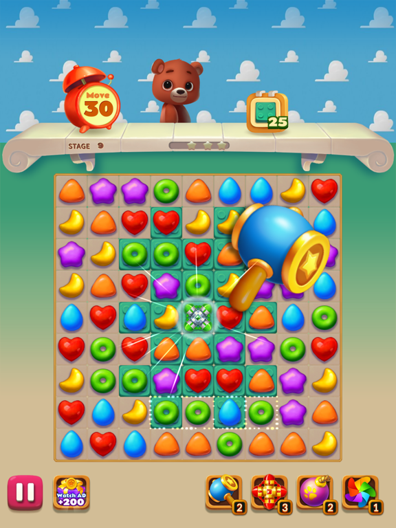 Toy Bear Sweet POP screenshot #2