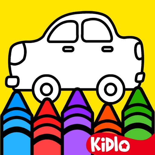 Kidlo Coloring Book for Kids