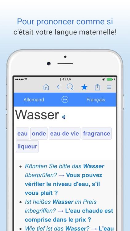 Dictionnaire français-allemand screenshot-4