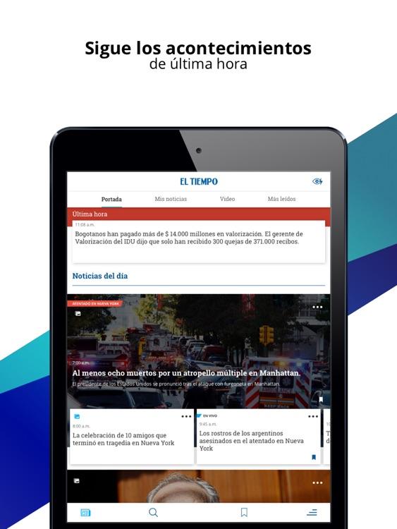 EL TIEMPO iPad screenshot-4